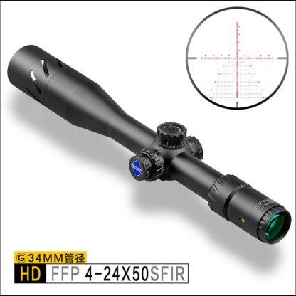 Прицел Discovery HD 4-24X50 SFIR SLT FFP IR-MIL