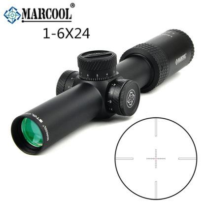 Прицел Marcool STALKER 1-6X24 HD IR MAR127