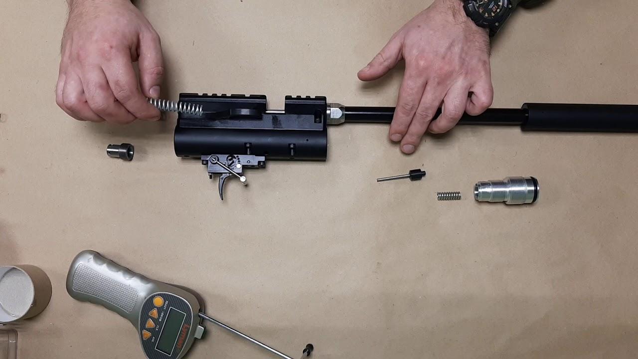 настройка винтовки егерь